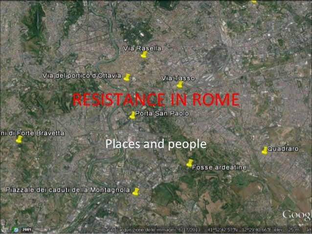 Resistance rome
