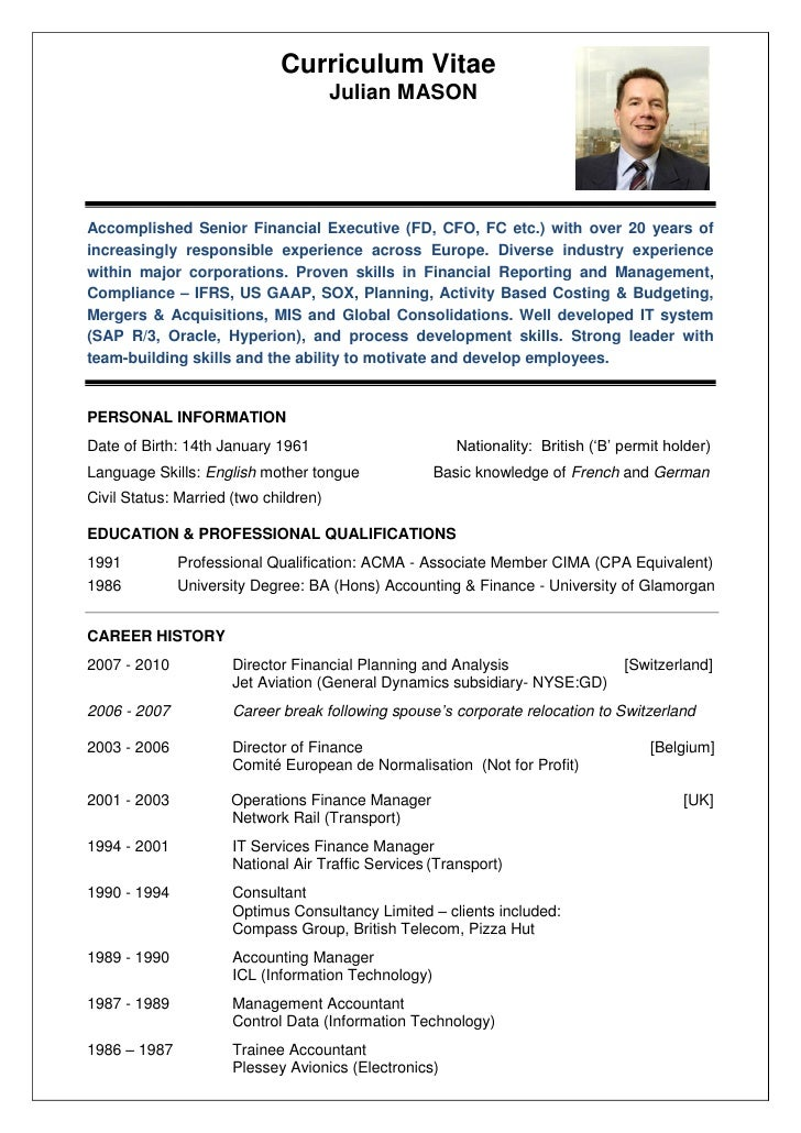 mason resume