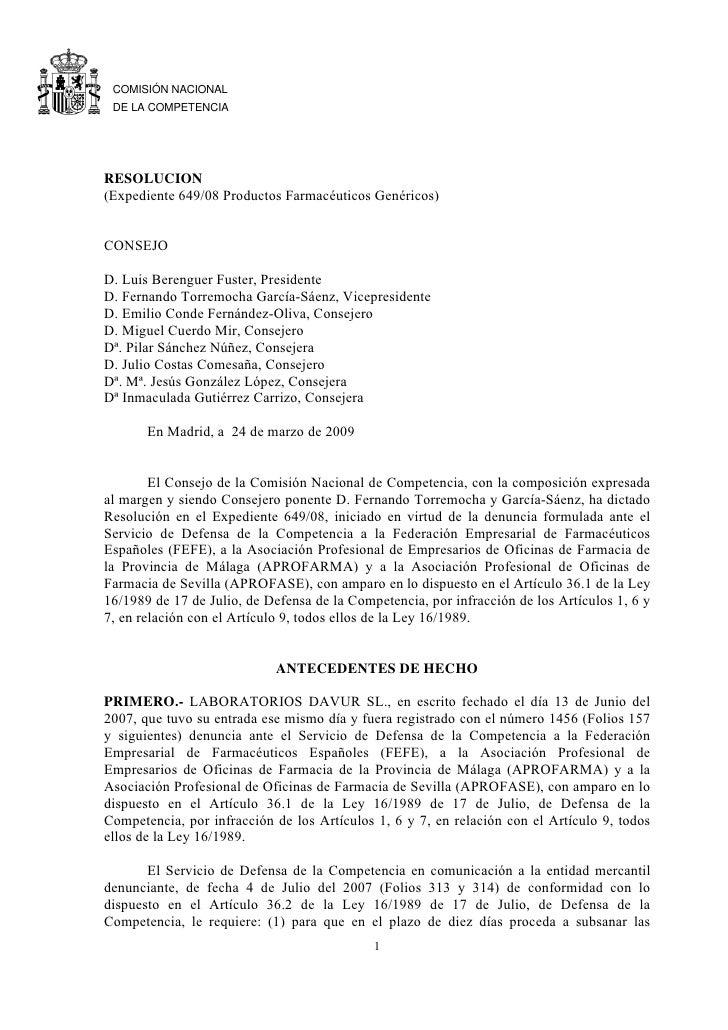 CNC resolucion
