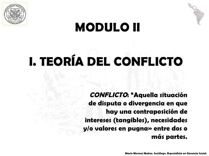 Resolución de conflictos ii, con temáticas
