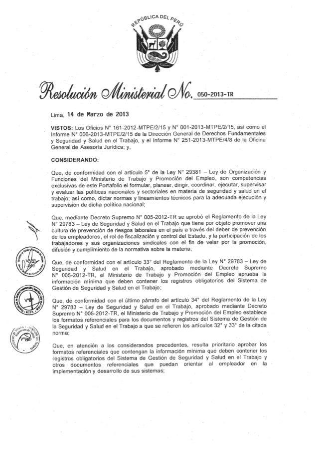 ANEXO 1  FORMATOS REFERENCIALES CON LA INFORMACIÓN MÍNIMA QUE DEBEN CONTENER LOS REGISTROS OBLIGATORIOS DEL SISTEMA DE GES...