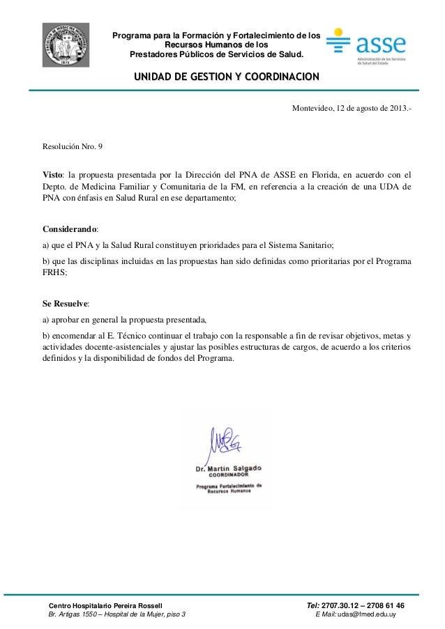 Programa para la Formación y Fortalecimiento de los RReeccuurrssooss HHuummaannooss de los Prestadores Públicos de Servici...