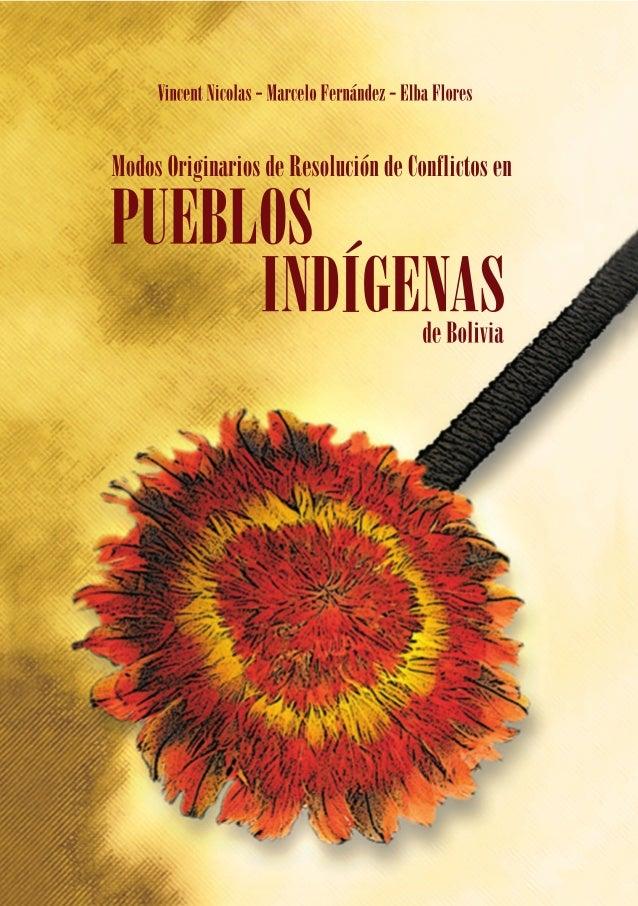 Modos originarios de resolución de conflictos en pueblos Indígenas de Bolivia