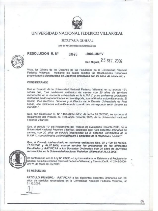 Resoluciones comunicado n° 03