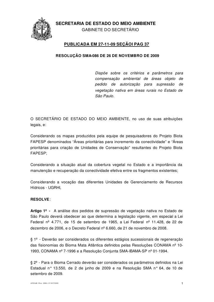 1.1.1                   SECRETARIA DE ESTADO DO MEIO AMBIENTE                                      GABINETE DO SECRETÁRIO ...