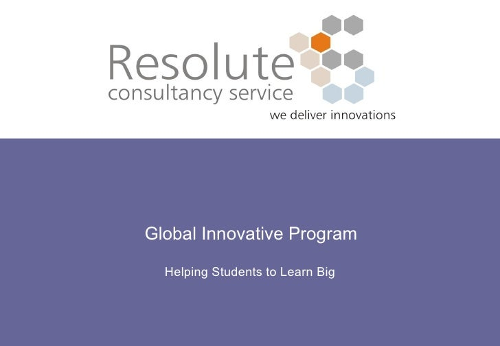 Global Innovative Program Helping Students to Learn Big