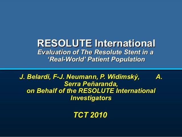 Resolute international 09 21