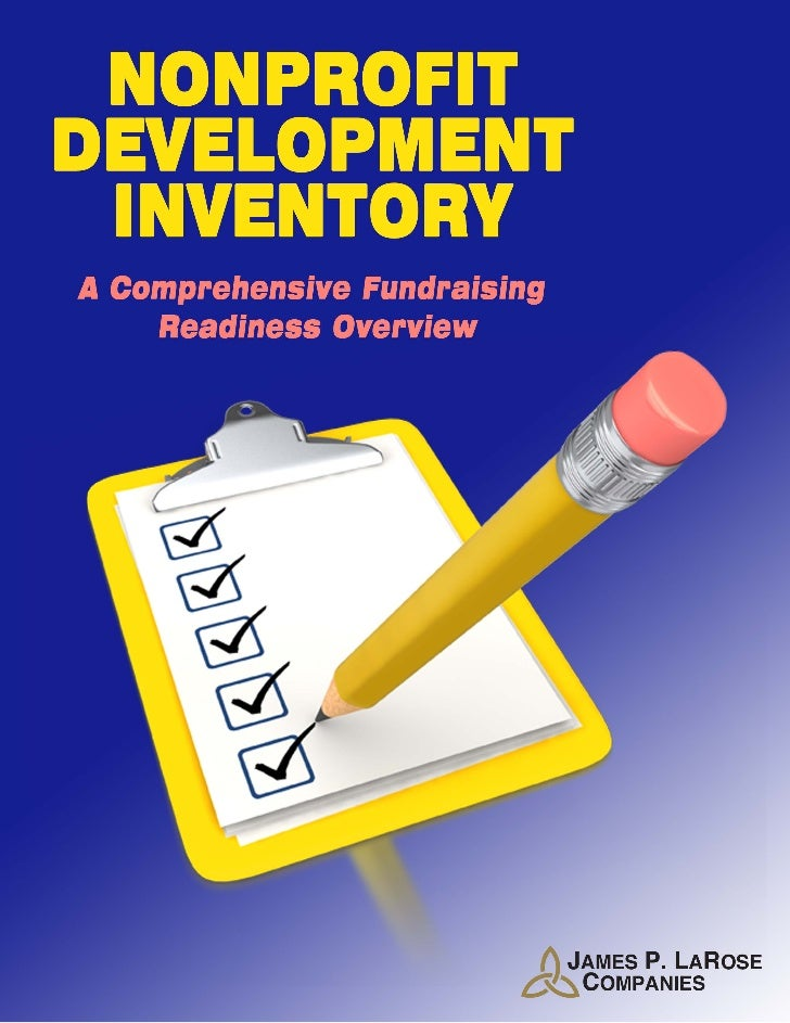 NONPROFITDEVELOPMENTINVENTORYConfidentialThe Nonprofit Development Inventory (NDI) is a confidential detailed assessment o...