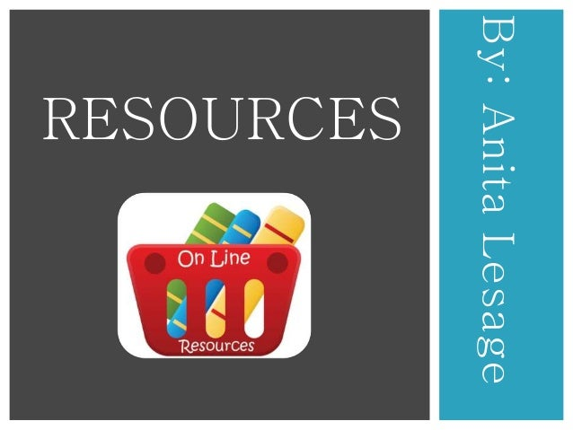 Resource presentation