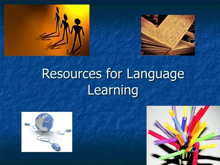 Resources for Language Learning