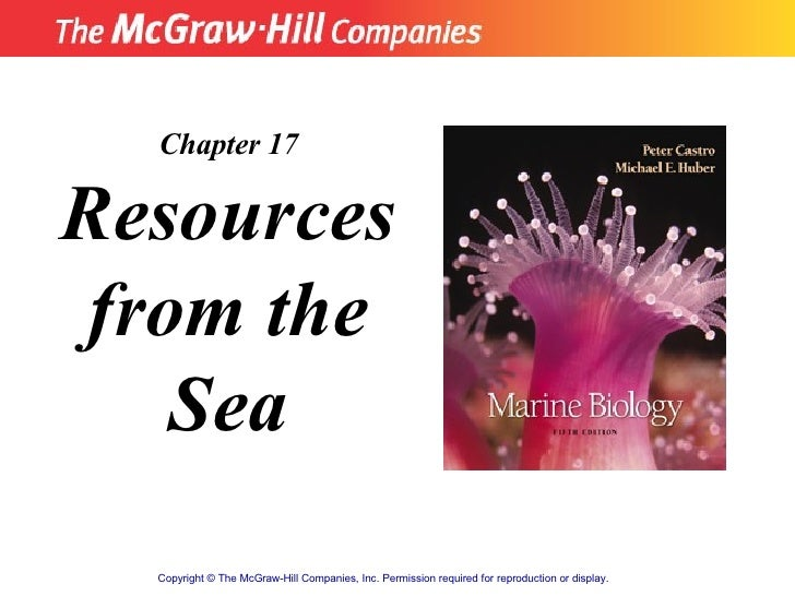 Resources From Sea Notes