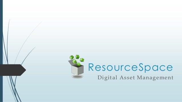 ResourceSpace Digital Asset Management