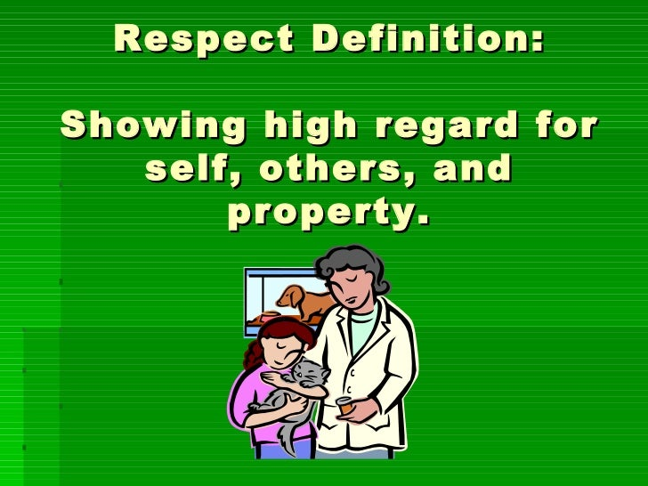respect others property essay