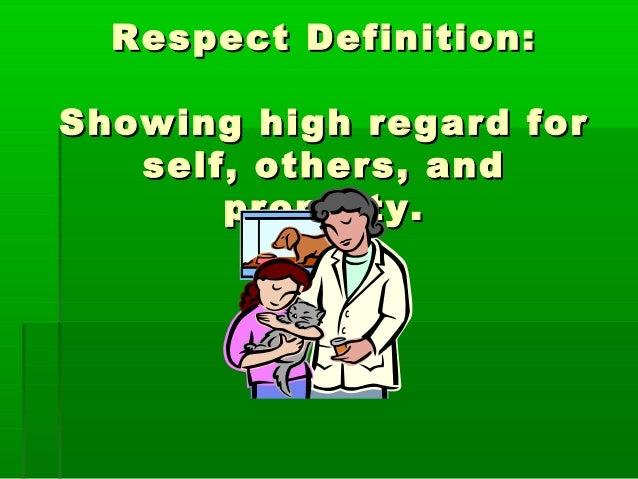 Respect Essay Topics