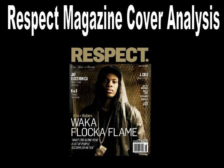 Respect Magazine Cover Analysis