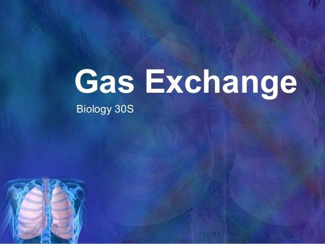 Gas ExchangeBiology 30S