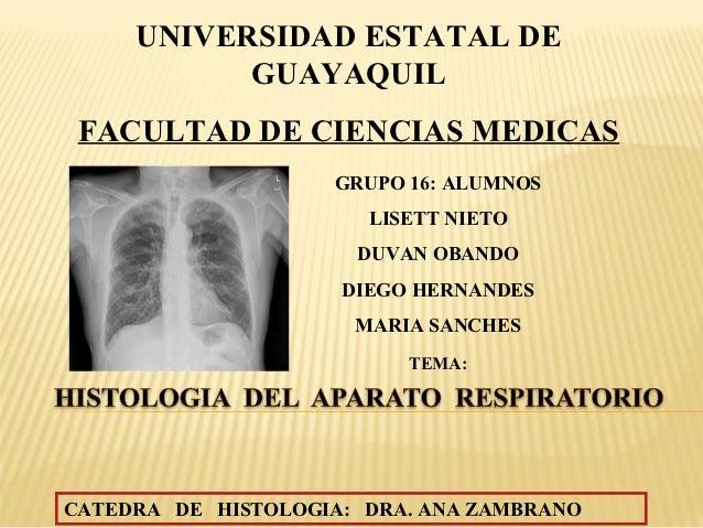 UNIVERSIDAD ESTATAL DE           GUAYAQUIL FACULTAD DE CIENCIAS MEDICAS                    GRUPO 16: ALUMNOS              ...