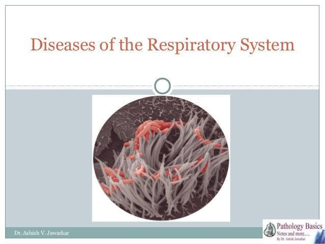 Diseases of the Respiratory System  Dr. Ashish V. Jawarkar
