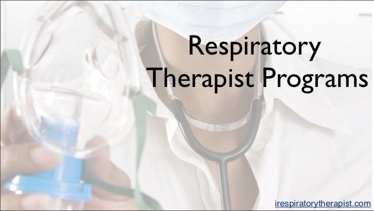Respiratory therapist programs