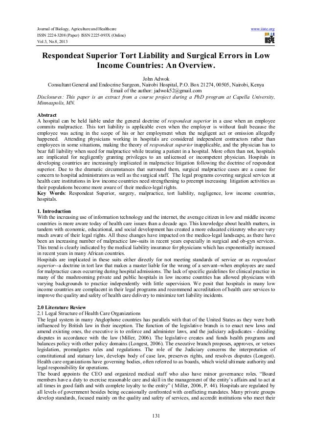 Journal of Biology, Agriculture and Healthcare www.iiste.org ISSN 2224-3208 (Paper) ISSN 2225-093X (Online) Vol.3, No.8, 2...