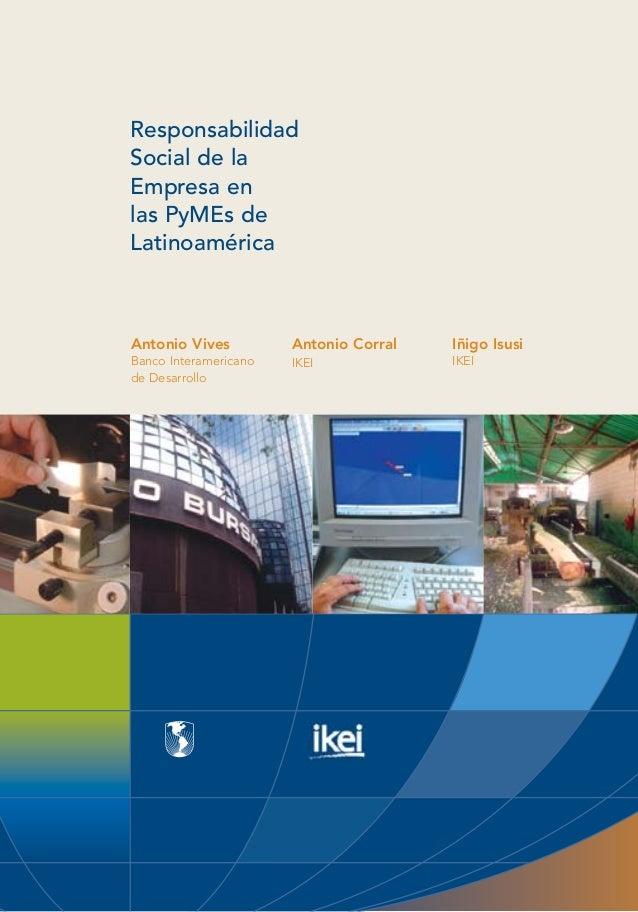 Responsabilidad Social Empresarial en la PYMES Latinoaméricanas