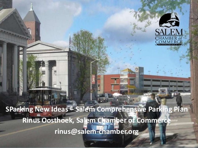 MAPC sPARKing New Ideas Parking Symposium: Presentation by Rinus Oosthoek