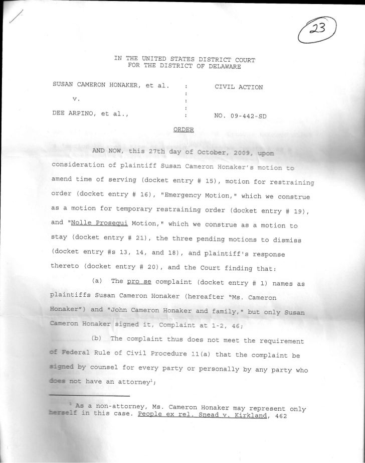 Response on 10 29 09 from court 10001 Criminal signatures each state by Patricia R Bush impersonating attorneys, judges; '...