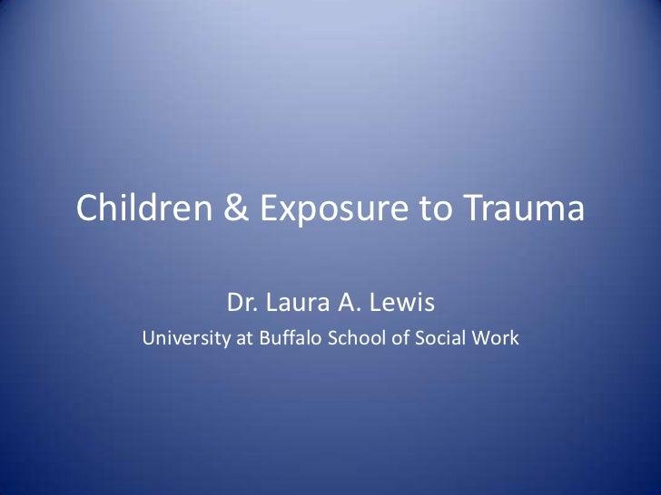 Responses to Childhood Trauma