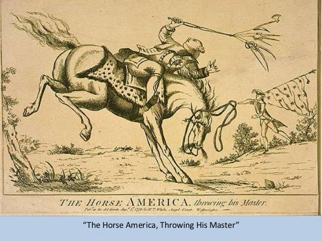"""The Horse America, Throwing His Master"""