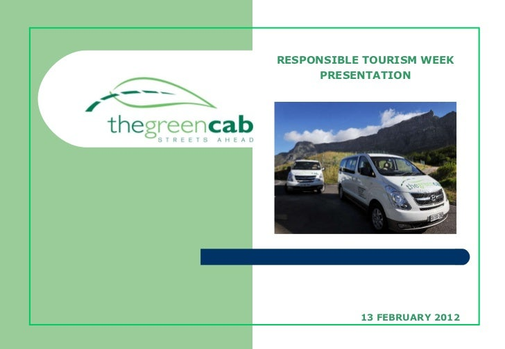 The benefits of green vehicles in tourism