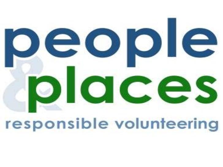 Responsible volunteering    Four simple priorities
