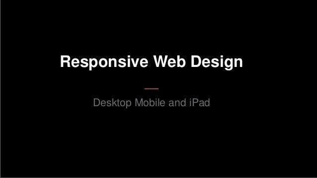 Responsive web-design - shubelal