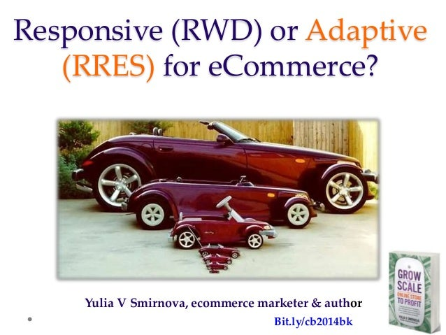 Responsive or Adaptive Design for eCommerce