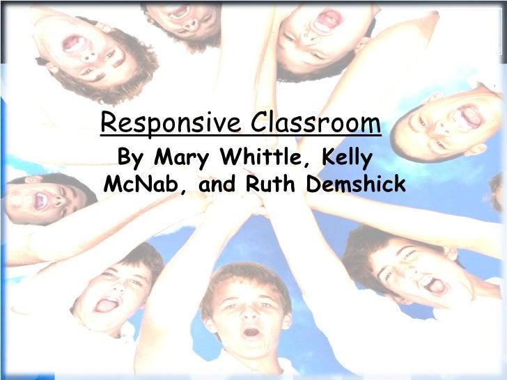 Responsive Classroom Design ~ Responsive classroom