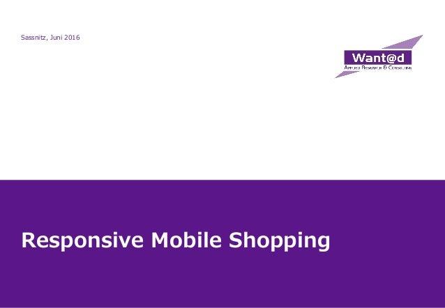 Responsive Mobile Shopping Sassnitz, Juni 2016
