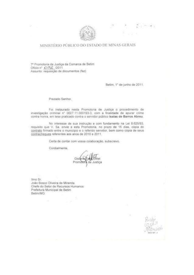 Resposta referente a mentira publicada pelo Jornal O Tempo