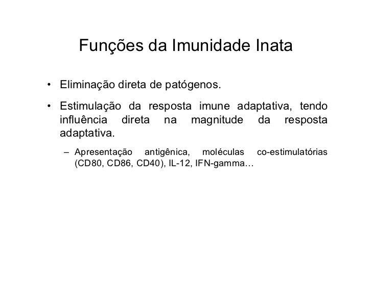 imunidade inata e adquirida pdf