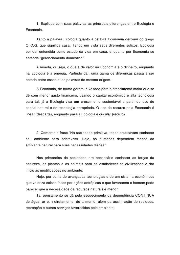 Resposta QuestionáRio E Texto