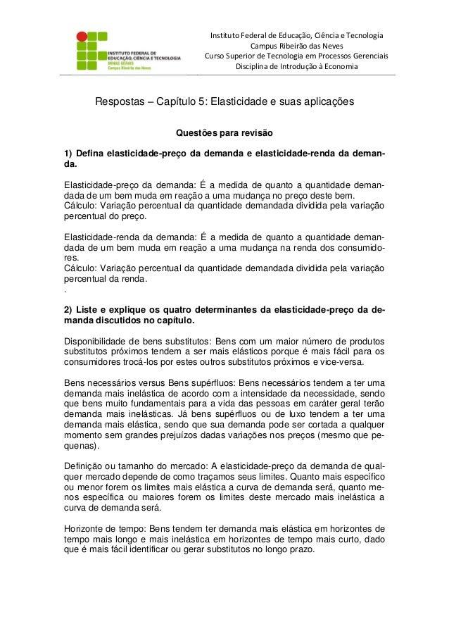 Instituto Federal de Educação, Ciência e Tecnologia Campus Ribeirão das Neves Curso Superior de Tecnologia em Processos Ge...