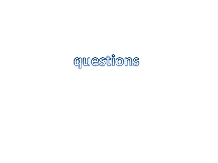 questions<br />