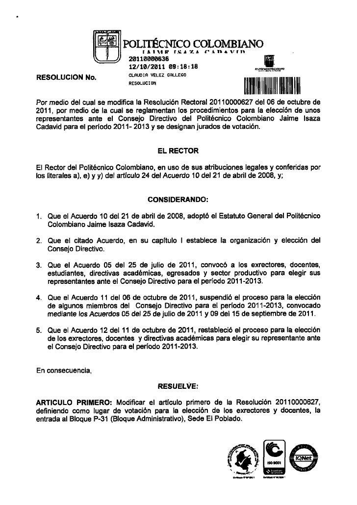 Elecciones Directivo