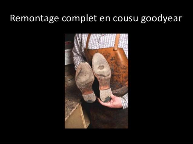 Remontage complet en cousu goodyear