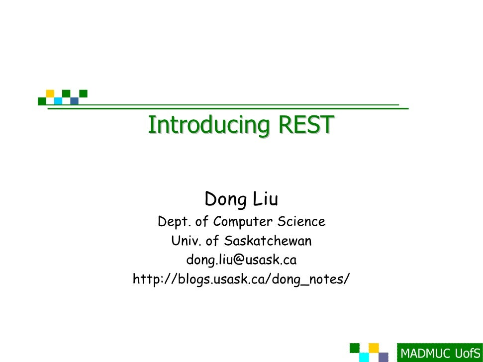 Introducing REST