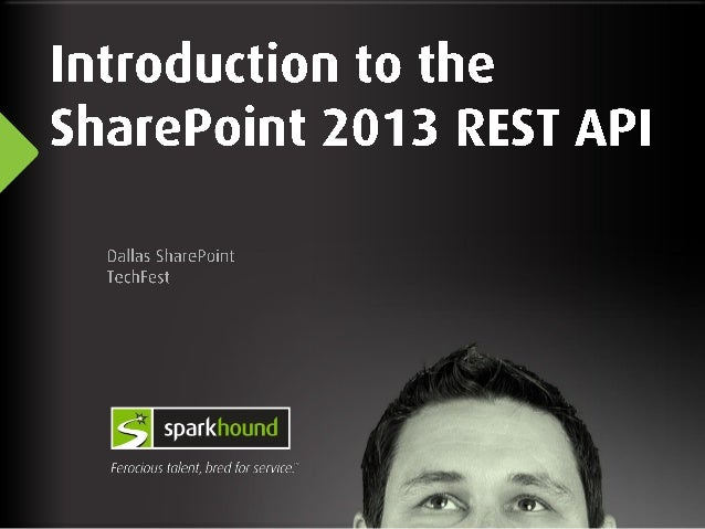 Introduction to SharePoint 2013 Rest API
