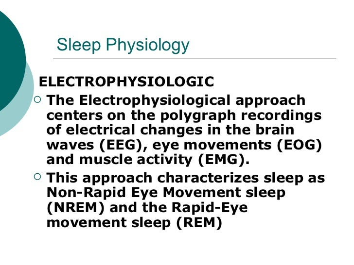 Eeg Brain Waves Sleep in The Brain Waves Eeg