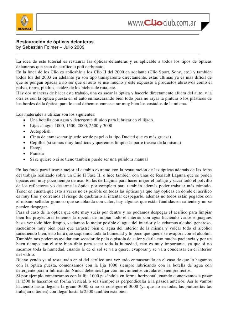 Restauracion opticas delanteras_clio2