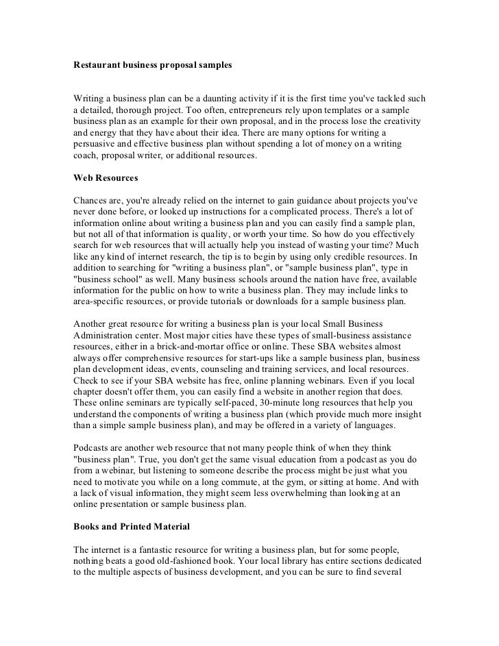 28+ Business Proposal Template Examples | Example Of A Proposal ...