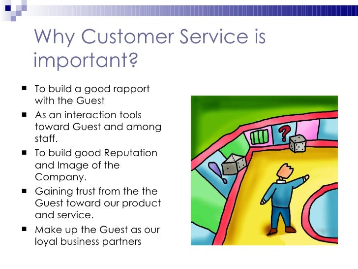 why is customer service so important essay Why is good customer service important _ tips, examples, and keys to better customer service much is at stake based on our ability to provide good customer service, better customer service than our competitors.
