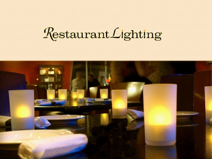 Restaurant Lighting - Rechargeable Tea Lights & Battery Operated Candles