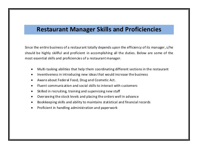 manager responsibilities resume store manager resume samples ...